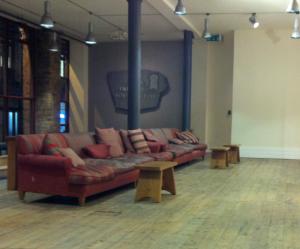 The Prince's Foundation reception area