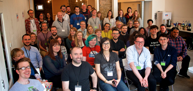 Barcampnfp 2015 end of day group shot by @netsmith